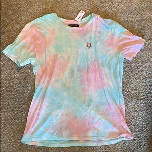 Men's brand new pacsun tie dye popsicle shirt